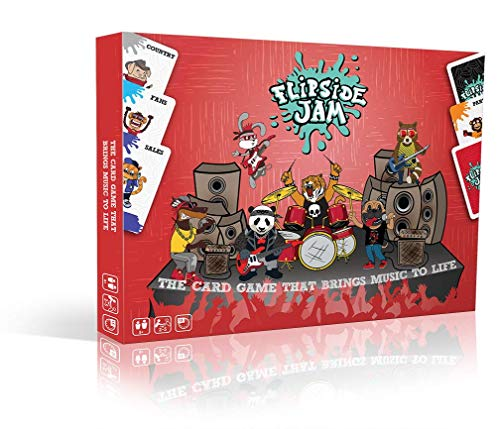 Flipside Jam  The Rocking Family Card Game  Just Pick Pass Flip  Its That Easy (Lightning Quick, Fun And Educational Board Game For Kids, Teens, Adults, Parents - Boys &Amp; Girls Ages 8 &Amp; Up)