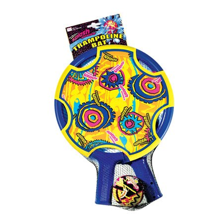 Splash Bombs Paddle Ball Set With 2 Paddles & Ball Colors May Vary
