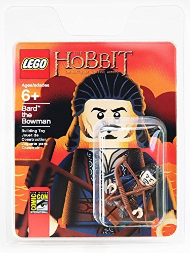 Bard The Bowman - Sdcc 2014 Exclusive The Hobbit Lego Minifigure