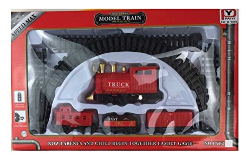 Little Treasures Max Power Steam Engine Train Set A Sleek Looking Trainset That'S Fun To Play With And Doesn'T Take Up To Much Room