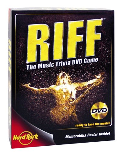 University Games Riff Dvd Game