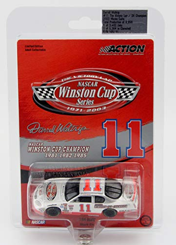 Darrell Waltrip #11  The Victory Lap-3X Champion  2003 Chevrolet Monte Carlo 1:64 Die-Cast Stock Car