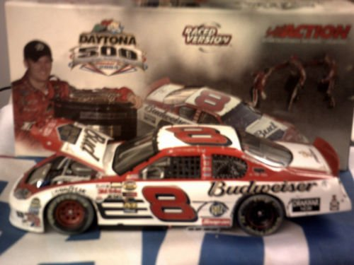 Dale Earnhardt Jr #8 Daytona 500 15 February 2004 Budweiser Born On Date Win Raced Version 1/24 Scale Action Racing Collectables Club Of America Rcca Limited Edition Hood Opens Individually Serialized