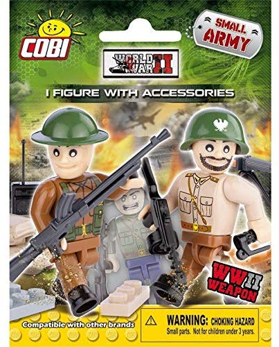 Cobi Blocks Small Army World War Ii Figure Blind Pack
