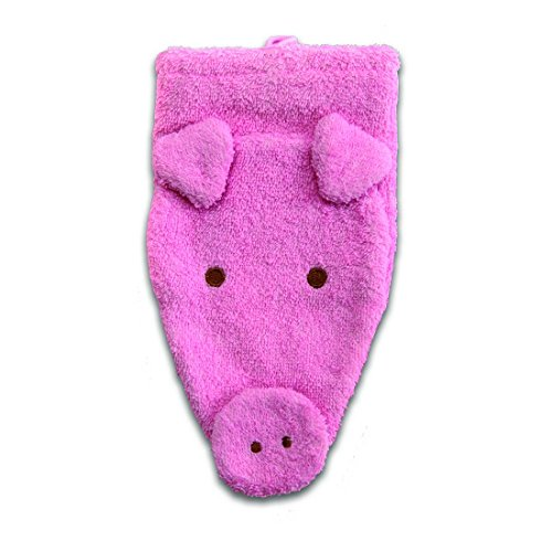 Washcloth Hand Puppet Pig By Furnis Small