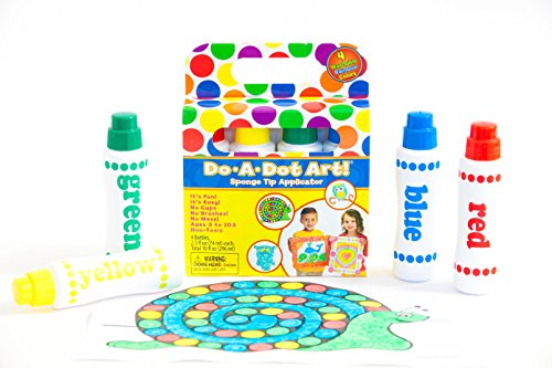 Do A Dot Art! Set Of Rainbow Washable Dot Paint Markers Kids Toddlers, The Original Dot Marker