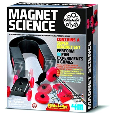 Big Game Toys~ Magnet Science Kit Magnetic Toy Homeschool Experiments Fair Project Set