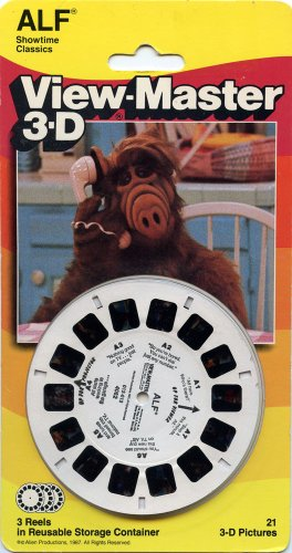 Viewmaster Alf - 3 Reels On Card - New
