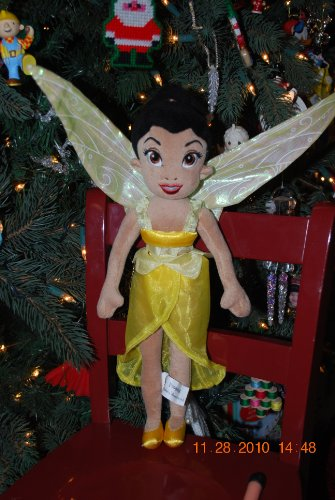 Walt Disneyworld Disney Fairies Iridessa Plush Doll 17