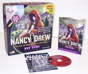 Nancy Drew: Curse Of Blackmoor Manor Dvd Game