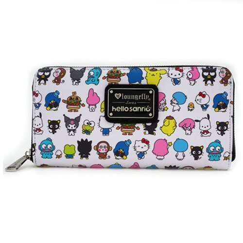 Loungefly Hello Kitty Sanrio Character Print Zip-Around Wallet