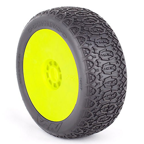 1/8 Buggy Chainlink S Soft, Evo Wheel Mnt Yellow