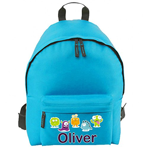 Label Weavers Personalized School Backpack With Name &Amp; Image