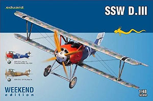 Edu08484 1:48 Eduard Weekend Edition - Ssw D.Iii [Model Building Kit]