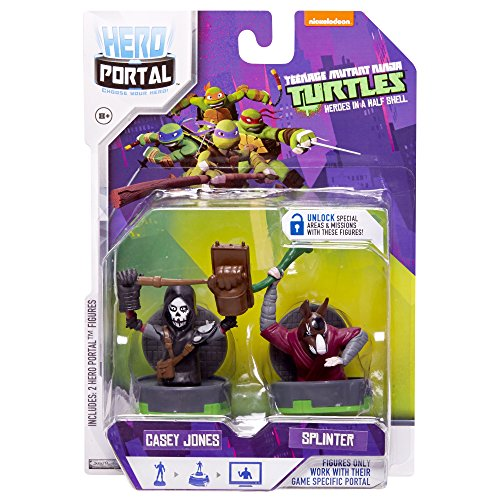 Teenage Mutant Ninja Turtles, Hero Portal Booster Pack, Casey Jones And Splinter,