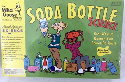 Soda Bottle Science - Steve Spangler - Quench Your Scientific Thirst With This Exciting Science Kit