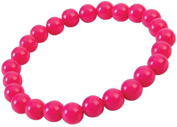 Forum Novelties, Women'S Hot Big Pearls Bracelet, Pink, Standard