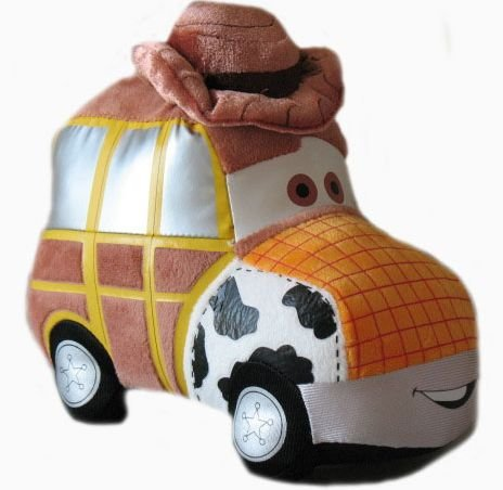 Disney Toy Story 8 Woody Car Plush