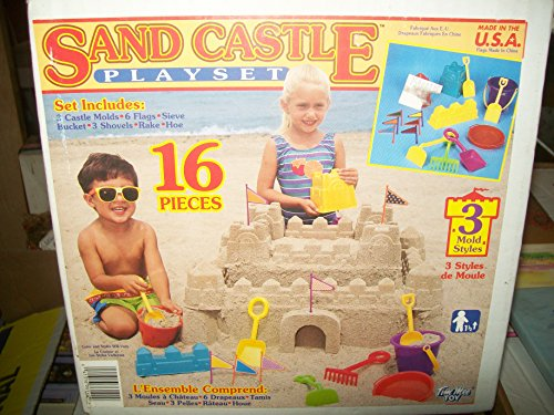 Sand Castle Playset By Tim Mee Toys