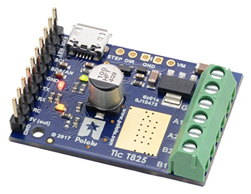 Pololu Tic T825 Usb Multi-Interface Stepper Motor Controller (Connectors Soldered) (Item: 3130)