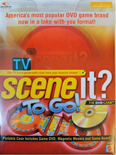 Tv Scene It? To Go! The Dvd Game