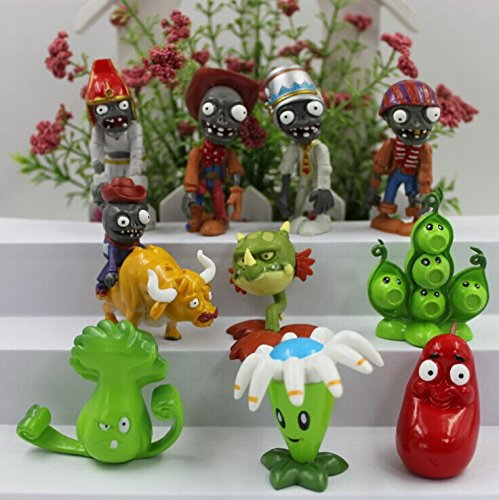 Plants Vs Zombies Series Game Role Figure Display Toy Pvc By Dinglongshan