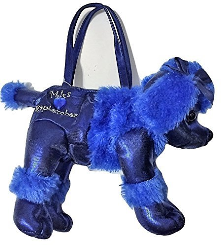 Poochie And Co Miss September Plush Purse