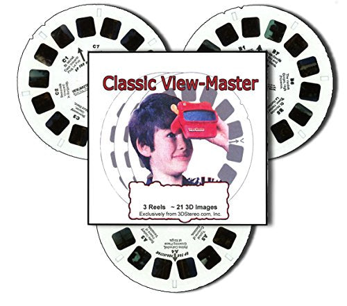 Moses & Plagues Of Egypt - 3 Reels Only - Sculpted Figure Art - Classic Viewmaster - 21 3D Images