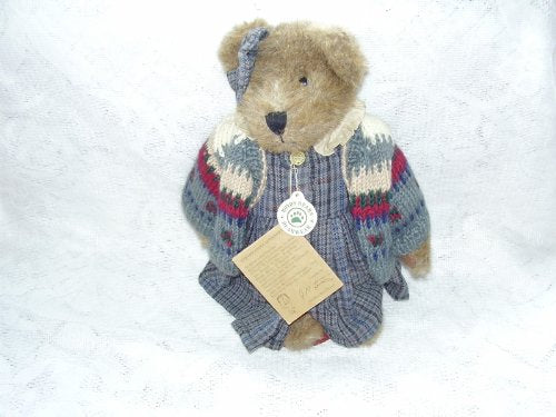 Boyds Bears Plush Teddy 12  Zelma G Berriweather Fob 1998