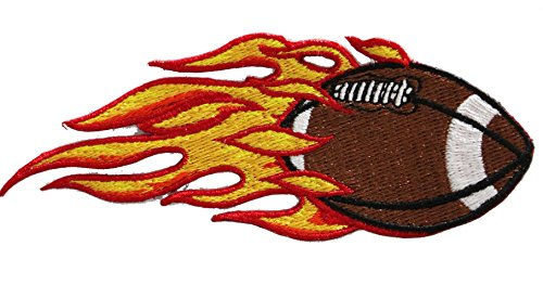 Application Dsx Football Patch With Flames