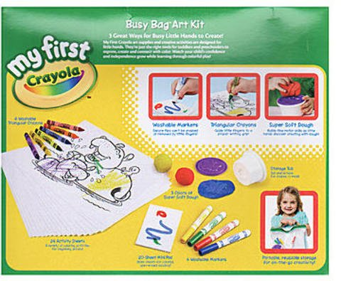 Crayola My First Busy Bag Art Kit 1 Pcs Sku# 1847497Ma