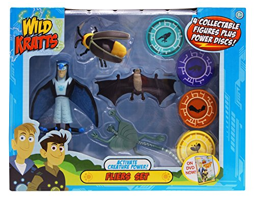 Wild Kratts - Activate Creature Power - Action Figure Set - Fliers
