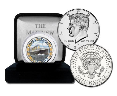 The Matthew Mint Titanic Boat Coin