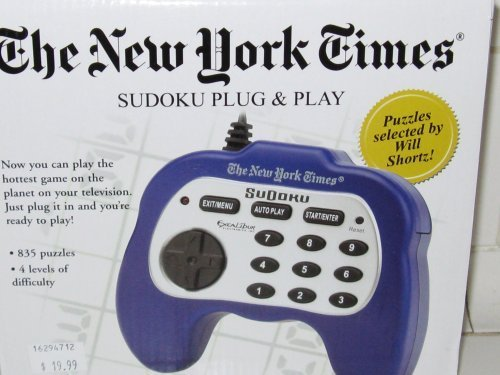Excalibur Ny90 The New York Times Plug And Play Sudoku
