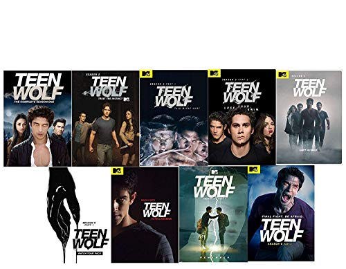 Teen Wolf: Tv Series 1-6 Complete Seasons 1 2 3 4 5 6 Part 1-2