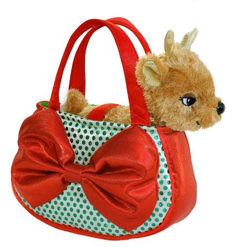 Aurora World Jolly Reindeer Pet Carrier