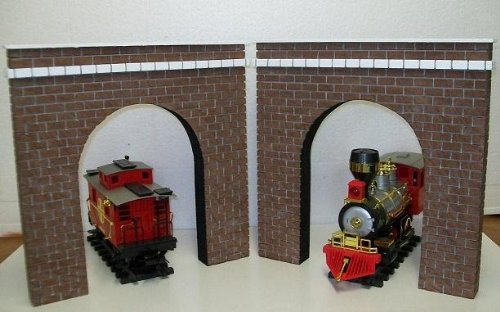 Model Railroad G Gauge Tunnel Portal - Set Of 2