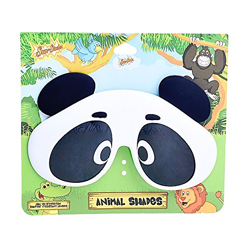 Sun-Staches Costume Sunglasses Animal Panda Party Favors Uv400