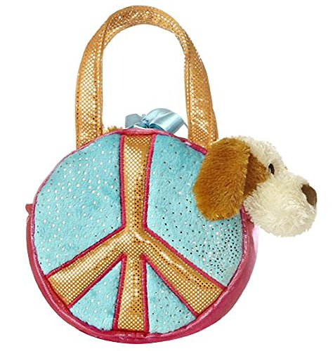 Peace Sky: Fancy Pals Mini-Plush Purse Pet Carriers Series [26781]