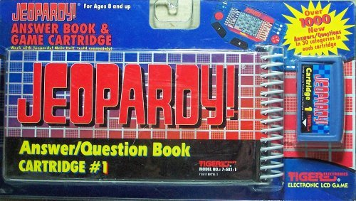 Jeopardy! Answer Book &Amp; Game Cartridge #1