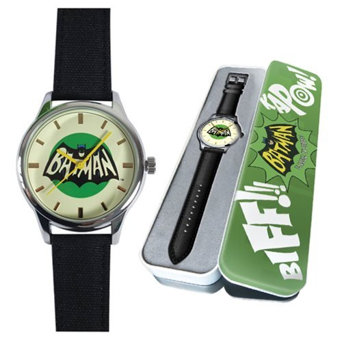 Eaglemoss Dc Comics Watch Collection Batman Classic 1966 Tv Series Watch