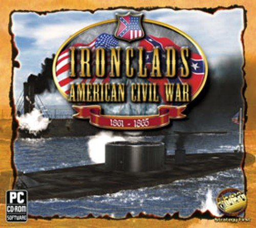 Brand New Strategy First Ironclads: American Civil War Historically Armament 80 Hours Game Time