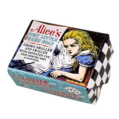 Wonderland Alice'S Tiny Hand Soap - 1 Mini Bar Of Soap - Made In The Usa