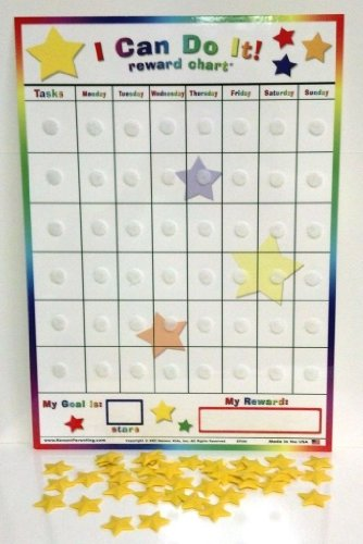 Replacement Board And Stars For Kenson Kids  I Can Do It  Reward Chart