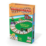 Subtraction Tracks Card Game