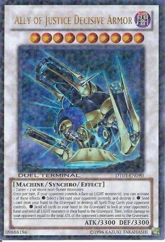 Yu-Gi-Oh! - Ally Of Justice Decisive Armor (Dt03-En090) - Duel Terminal 3 - 1St Edition - Ultra Rare