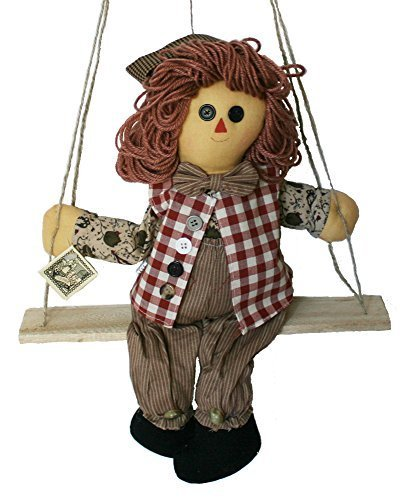 Raggedy Andy Doll Lookalikes - Cloth Doll 15 Inches Boy Plush Rag Doll