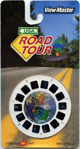 Viewmaster- Road Tour - 3 Reels On Card - New