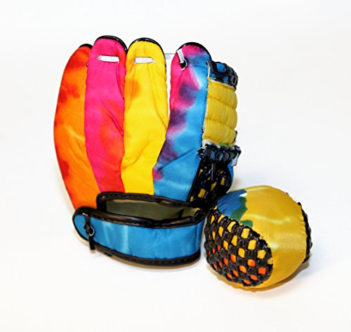 Fun Gripper Tie Dye ( Mini) Glove And Ball By: Saturnian 1