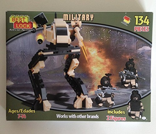 Best-Lock Military: 134 Pieces - Includes 2 Figures
